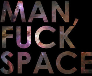 Heard, man, and space image