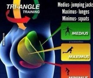 booty, exercise, and glutes image