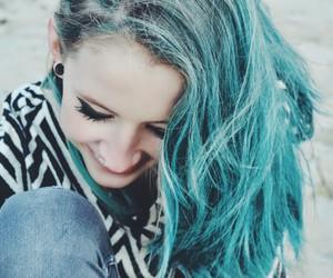 blue hair