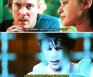 bellamy, raven, and the hundred image