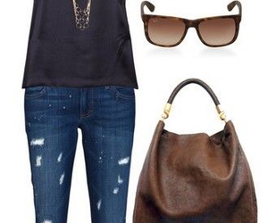brown, convers, and fashion image