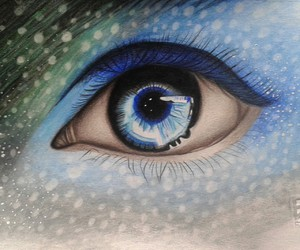 colours, eyes, and mydrawings image
