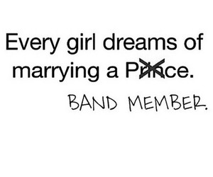 band, girl, and quote image