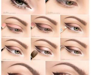 eye makeup, eyes, and makeup image