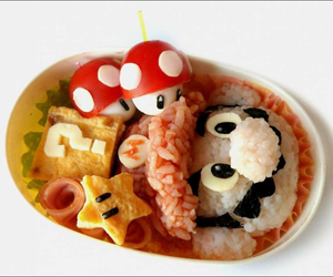 food, mario, and yummy image