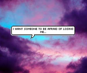 afraid, quotes, and sad image