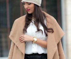 class, fall fashion, and skirt image