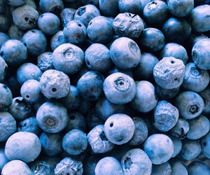 food, fruit, and blueberry image