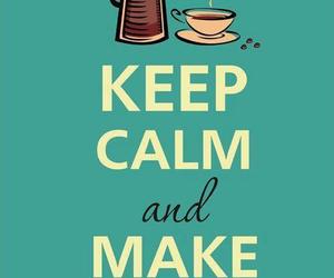 coffee and keep calm image
