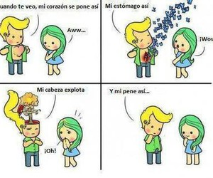 Chica, frases, and chistes image