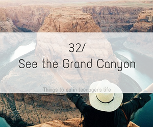 country, grand canyon, and life image