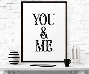 home decor, typography poster, and wall art image