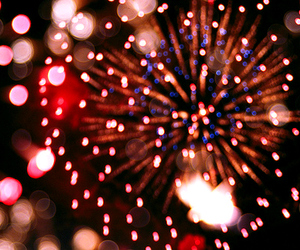 fireworks, 2015, and light image