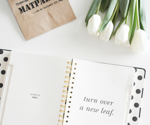 agenda, flowers, and kate spade image
