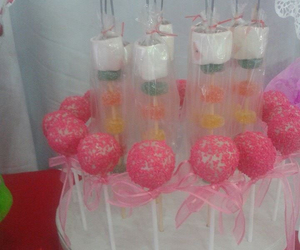 sweet, popcake, and pink popcake image