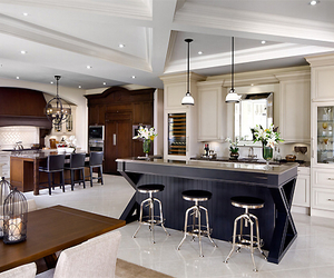 kitchen, chic, and house image