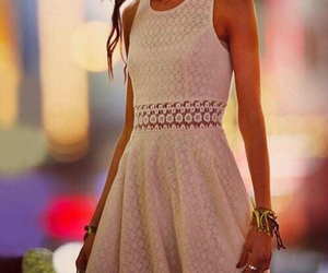 dress, model, and Karlie Kloss image