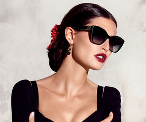 sunglasses, Bianca Balti, and D&G image