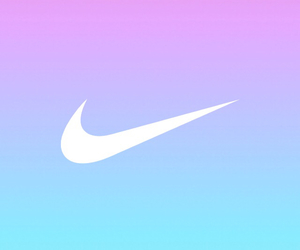 nike, blue, and pink image
