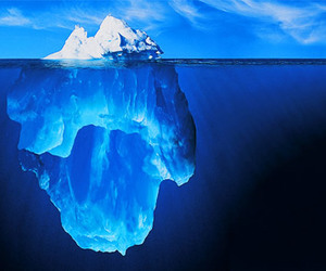 iceberg, nature, and naturaleza image