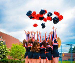 photography, cheerleading, and team picture image
