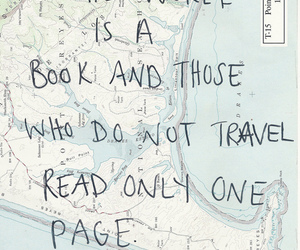 travel, quotes, and book image
