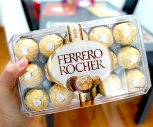 rocher, chocolates, and food image