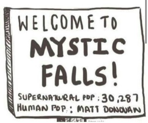 mystic falls, tvd, and the vampire diaries image
