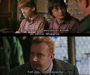 harry potter, weasley, and funny image