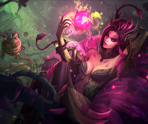 league of legends, lol, and zyra image