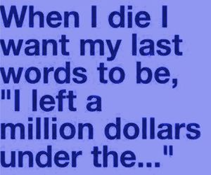 dollar, die, and funny image