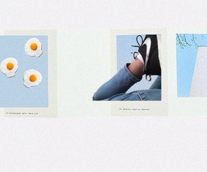 aesthetic, blue, and egg image