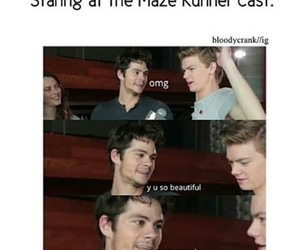 the maze runner and dylan o brien image
