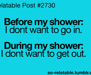 shower, true, and funny image