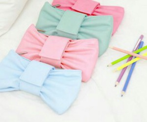 bag, blue, and cute image