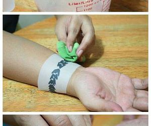 diy, do it yourself, and tattoo image