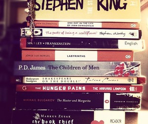 book, Stephen King, and read image