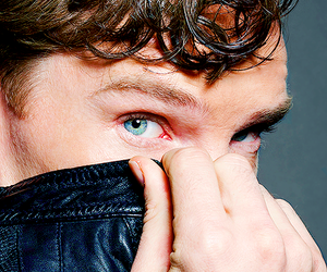 boy, eyes, and benedict cumberbatch image