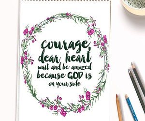 art, courage, and quote image
