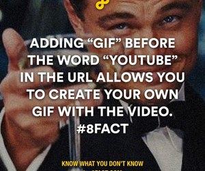 gif, youtube, and hacks image