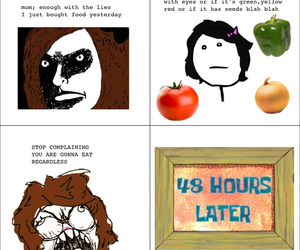 food, funny, and rage comics image