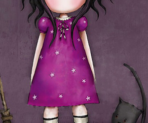 girl, cute, and animation image
