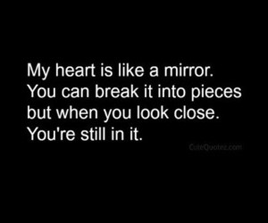 broken, heart, and you image