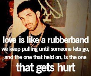 love, hurt, and Drake image