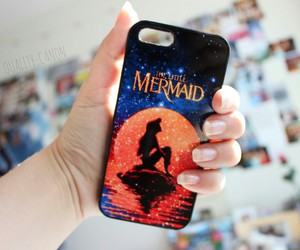 iphone, little mermaid, and quality image