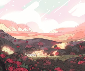steven universe and background image