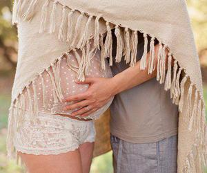 love, pregnant, and baby image