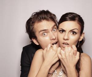 couple and victoriajustice image