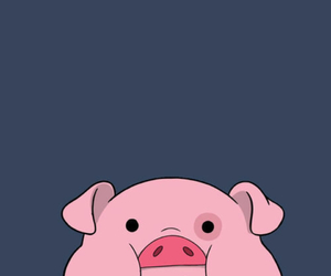 wallpaper, pig, and gravity falls image