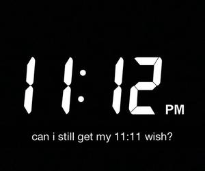11:11, grunge, and wish image